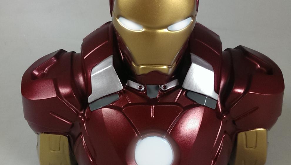 Iron Man mark VII - Bust Bank