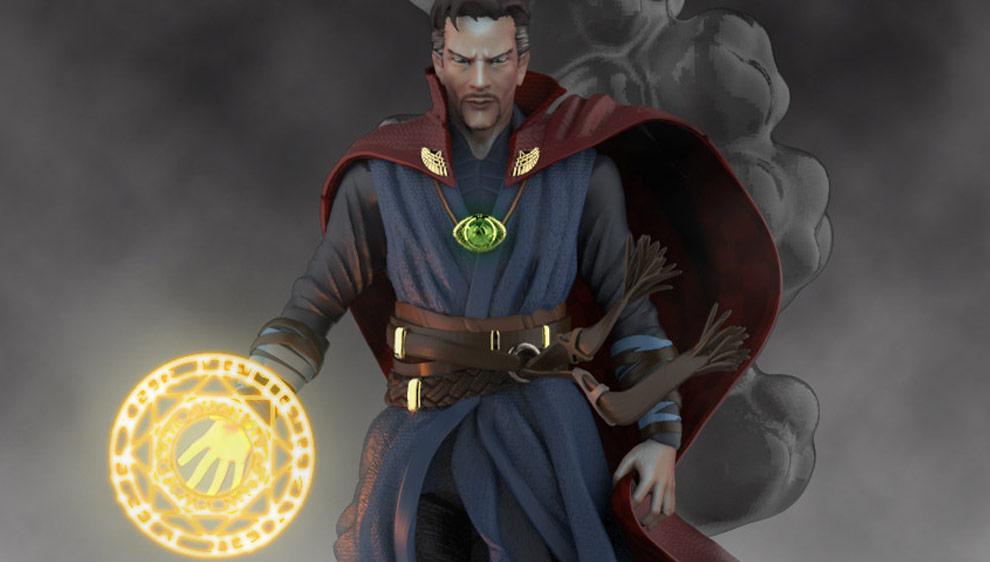 Doctor Strange statue