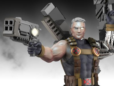 Cable statue