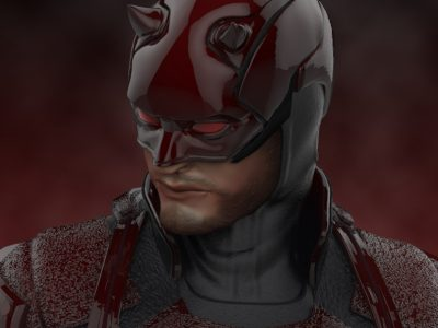 Daredevil netflix statue - new version