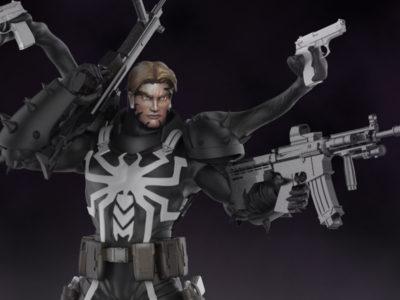Agent Venom Statue