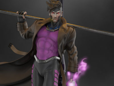 Gambit statue