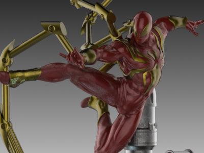 Iron Spider Statue
