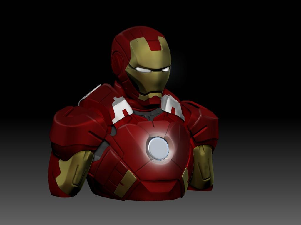 iron man bb colors