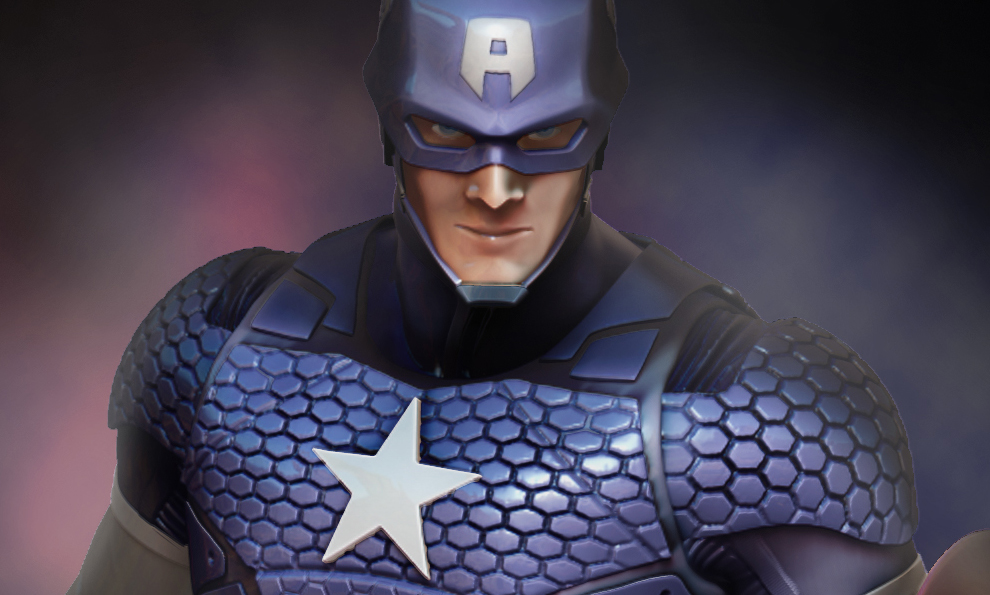 Captain America - Marvel Now - Statue