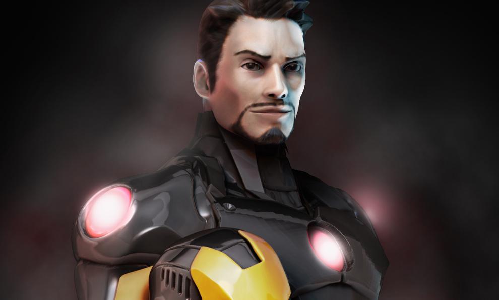 Iron Man - Marvel Now statue