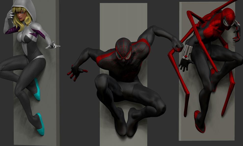The Spider-Verse diorama