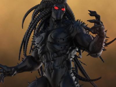 Blackheart Statue