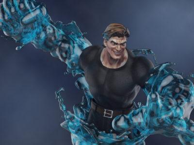 Hydro Man statue